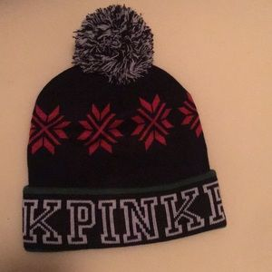 Never Worn Victoria's Secret Pink Winter Hat